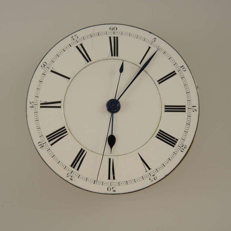 English Centre Seconds lever movement c1890
