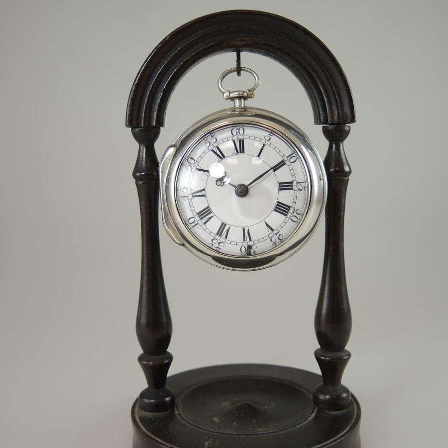 Georgian pocket watch stand c1800