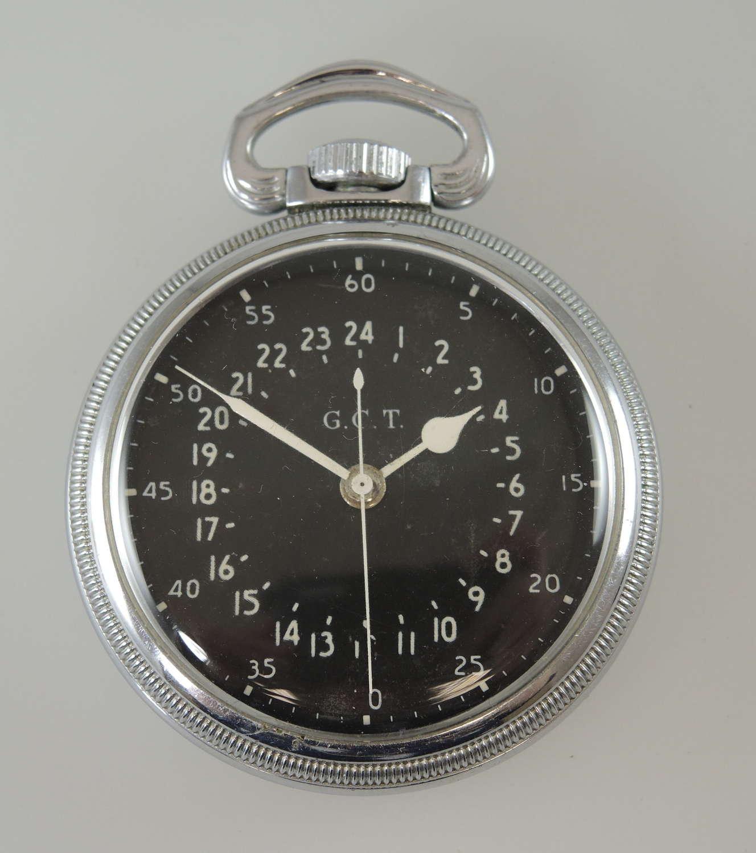 Hamilton 4992B 24 Hour Military pocket watch c1941