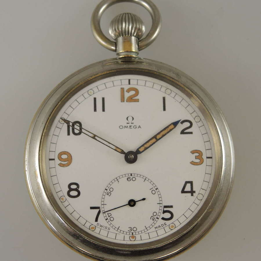British military Omega pocket watch c1940