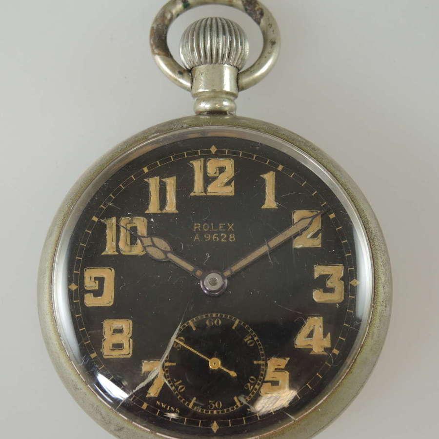 Military Rolex pocket watch c1940