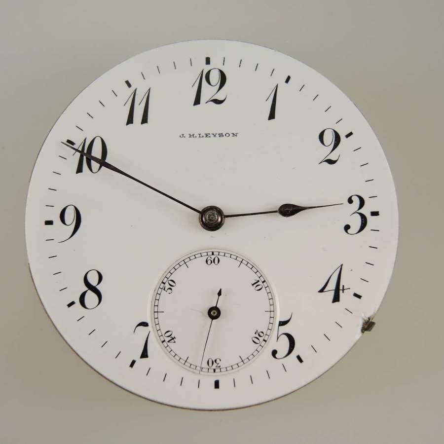 Good Quality Swiss American market pocket watch movement c1910