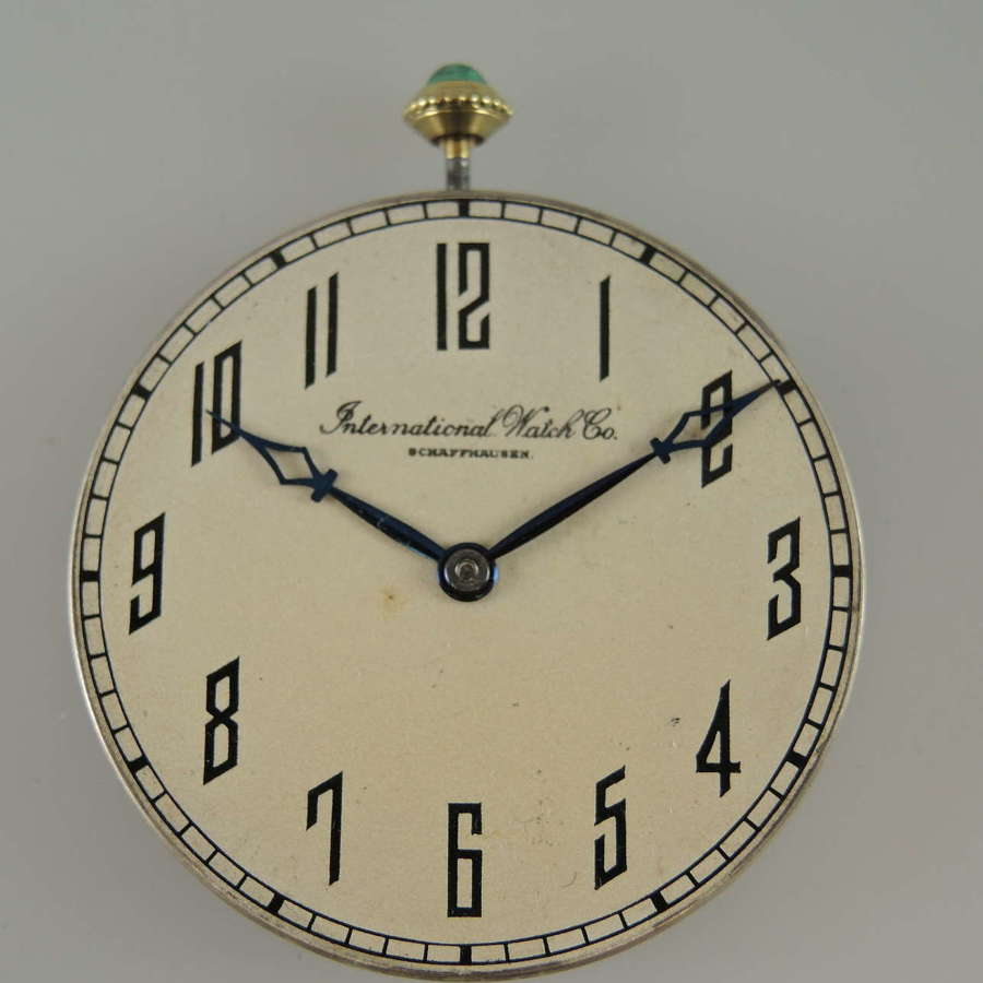 Top quality International Watch Co IWC pocket watch movement c1910
