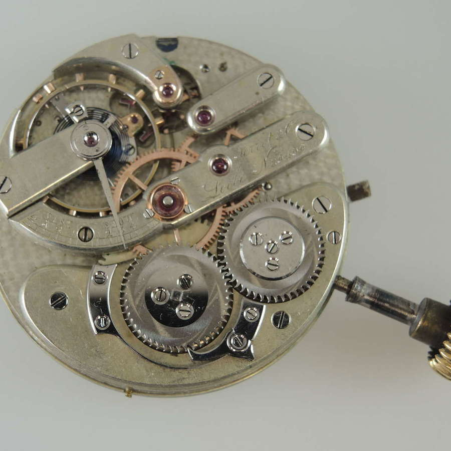 High Quality pocket watch movement by Perret & Co c1890